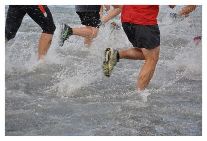Saint Vaast la Hougue : la course du Run