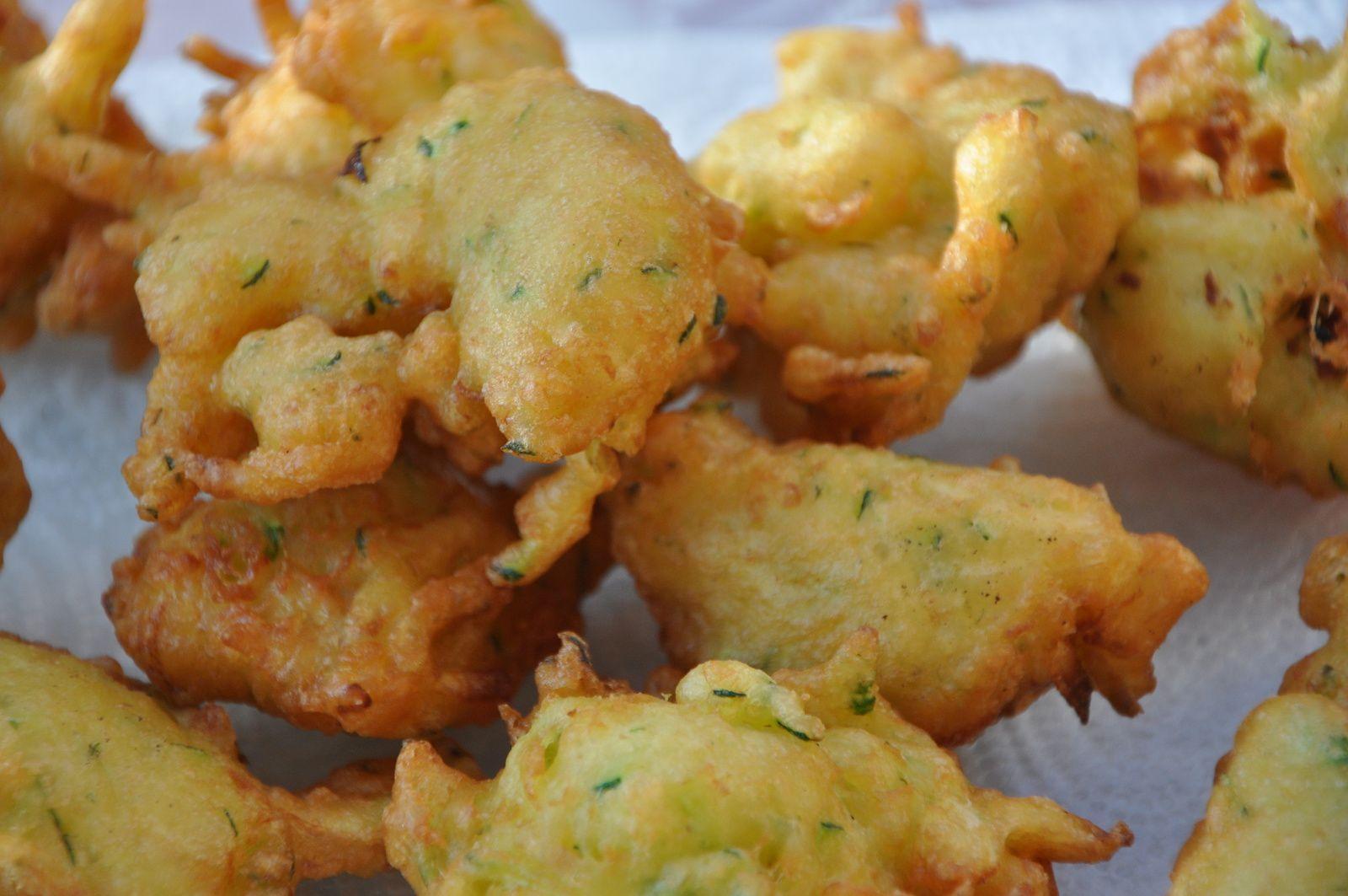 beignets de courgettes de zaza cool cuisine part aime