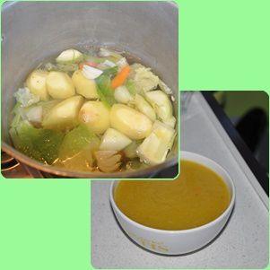 Ma soupe aux légumes