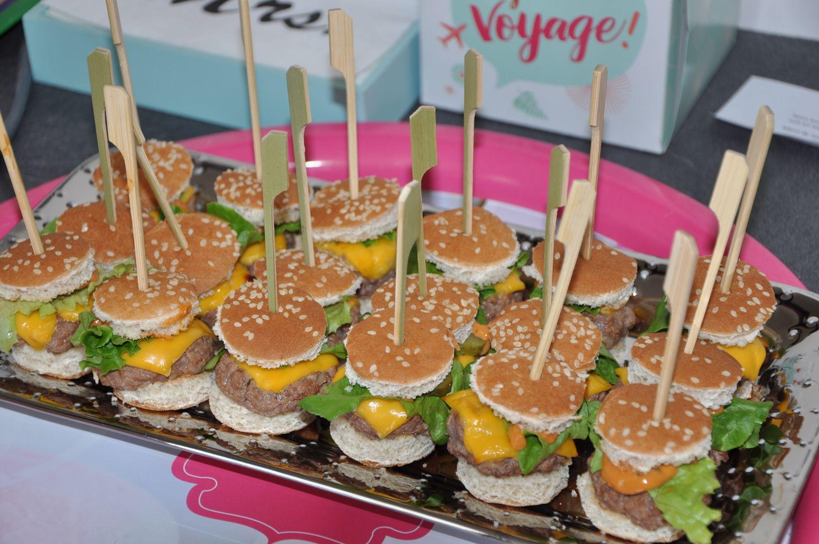 Mini hamburgers ...