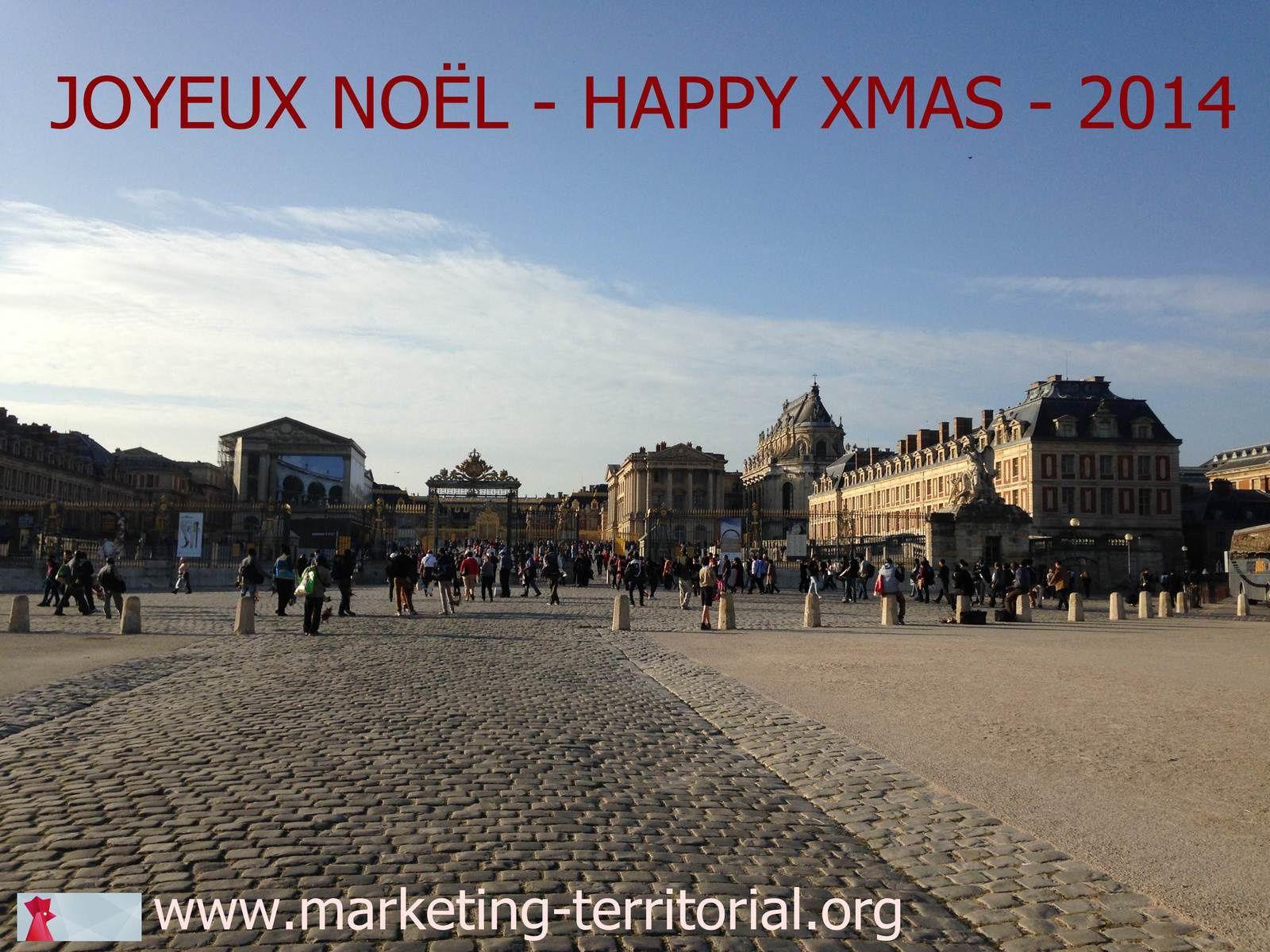 Joyeuses fêtes de Noël - Merry Christmas !