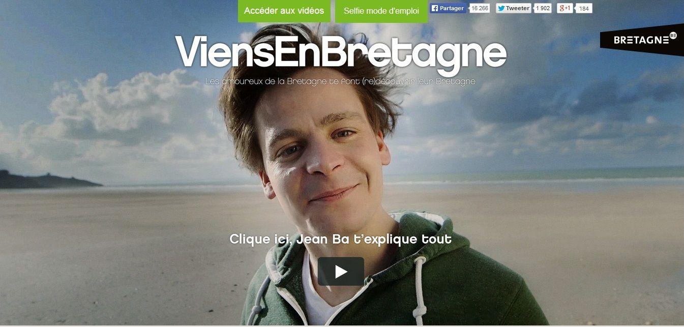 Viens en Bretagne : campagne télé