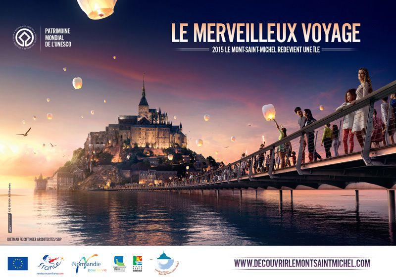 Campagne mondiale pour le Mont Saint Michel
