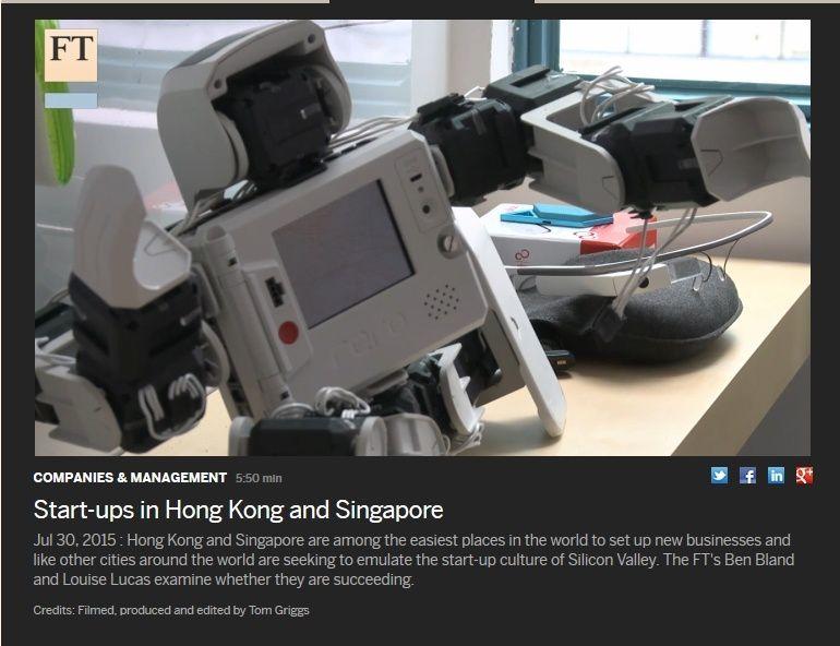 Les dispositifs d'accueil de start-ups à Hong-Kong, Singapour et Boston
