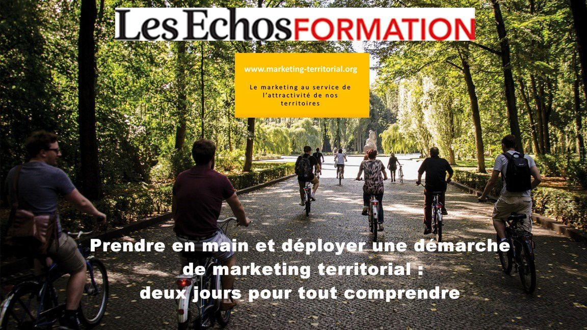 Formation au marketing territorial - nouvelle formule