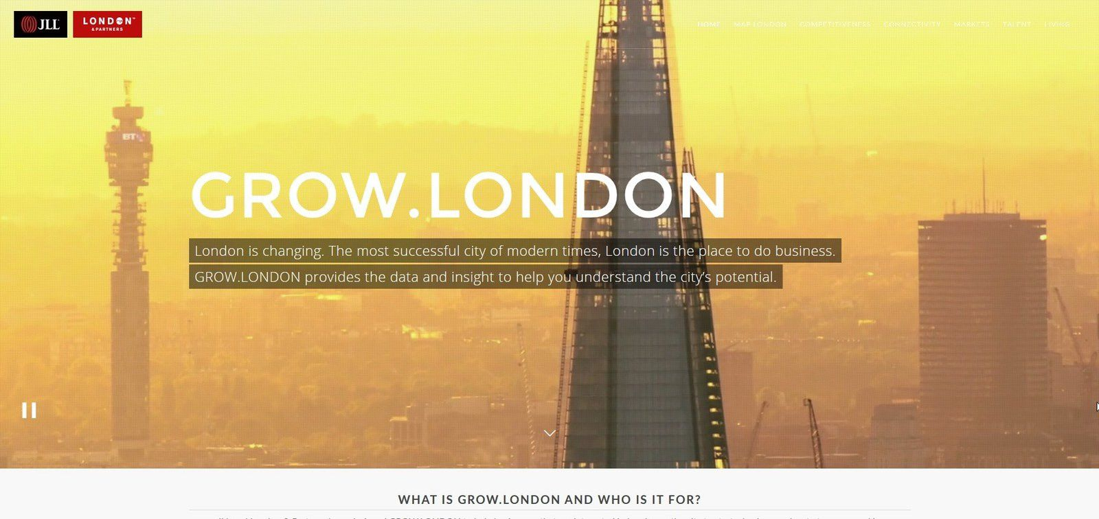 Londres, un site world-class pour affirmer son leadership