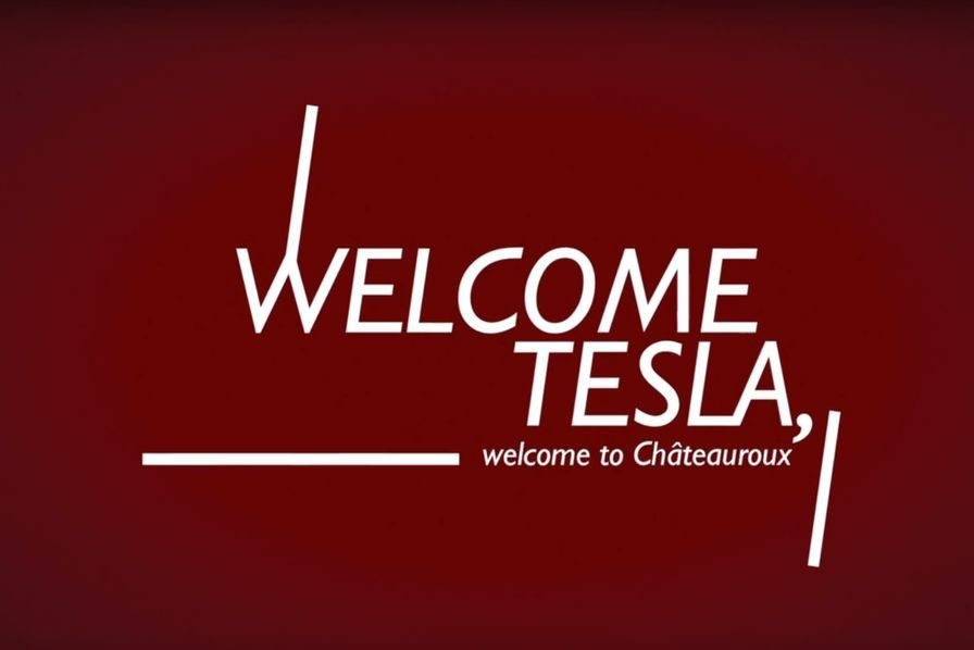 """Welcome Tesla. Welcome to Châteauroux"""