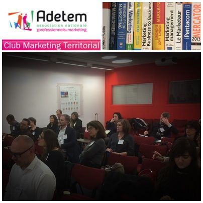 Prochaines réunions du Club Marketing territorial