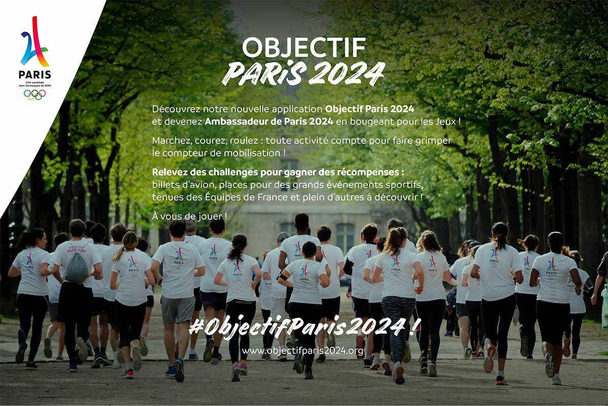 On Air : devenez ambassadeur de Paris 2024 et bougez !