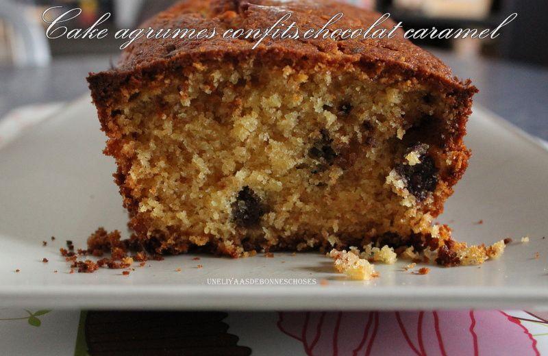 Cakes agrumes confits et chocolat caramel pour l'escapade en cuisine!