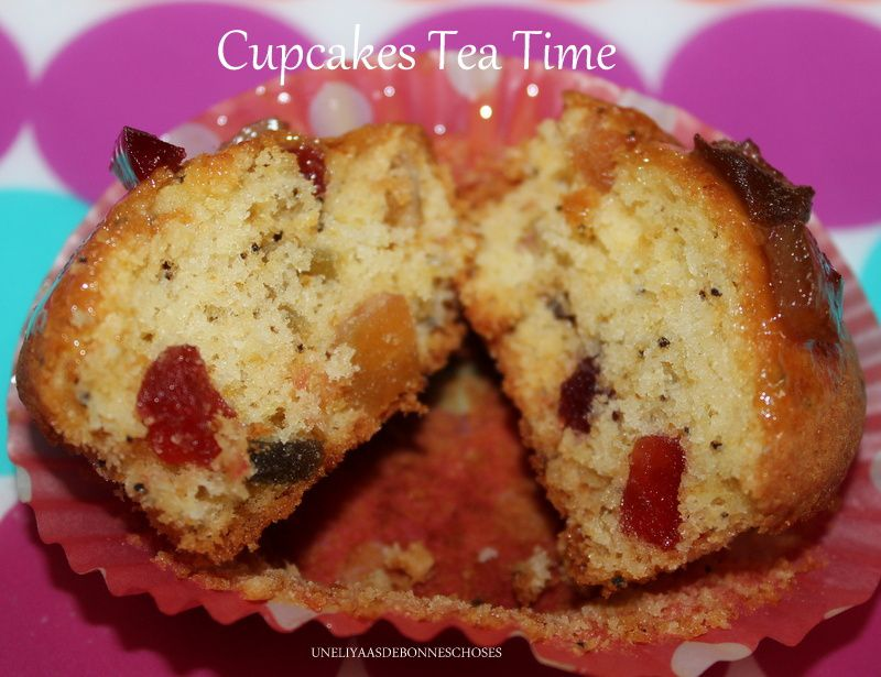 Cupcakes Tea Time(escapade en cuisine)