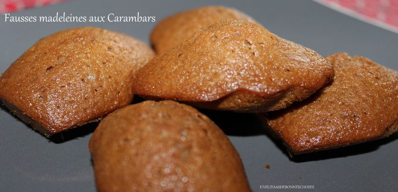 Fausses madeleines aux carambars...