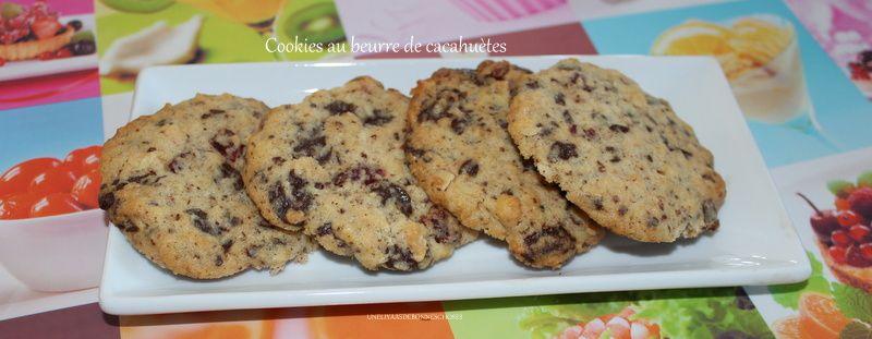 Cookies au beurre de cacahuètes(escapade en cuisine)