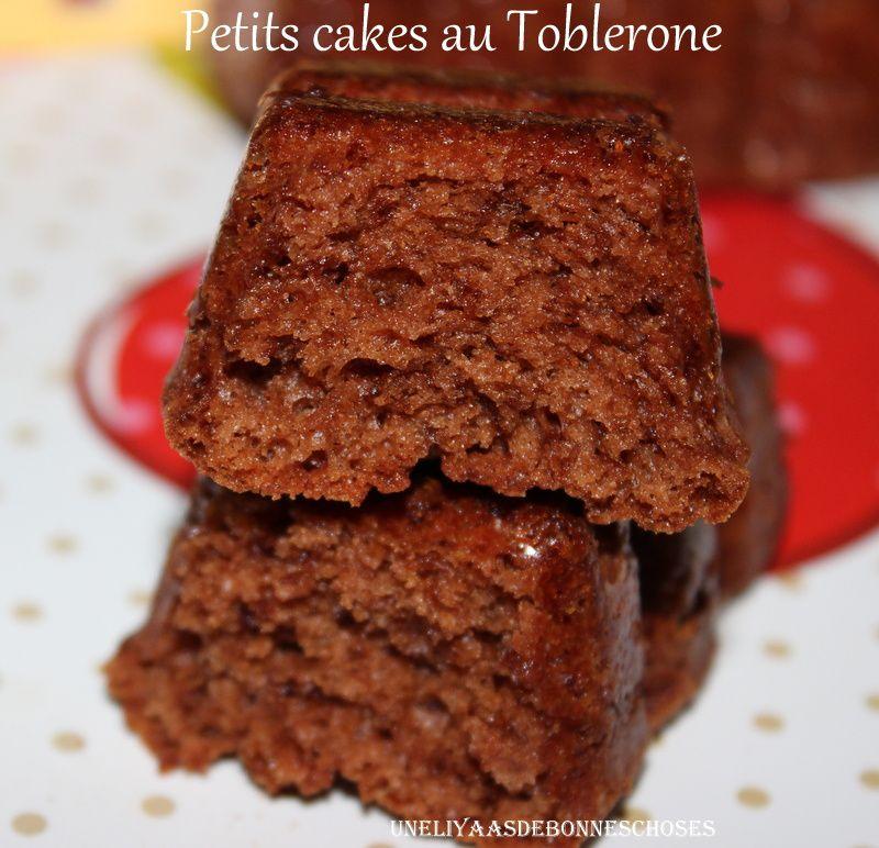 Petits cakes au Toblerone...