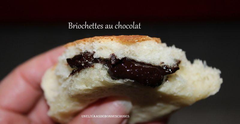 Briochettes au chocolat