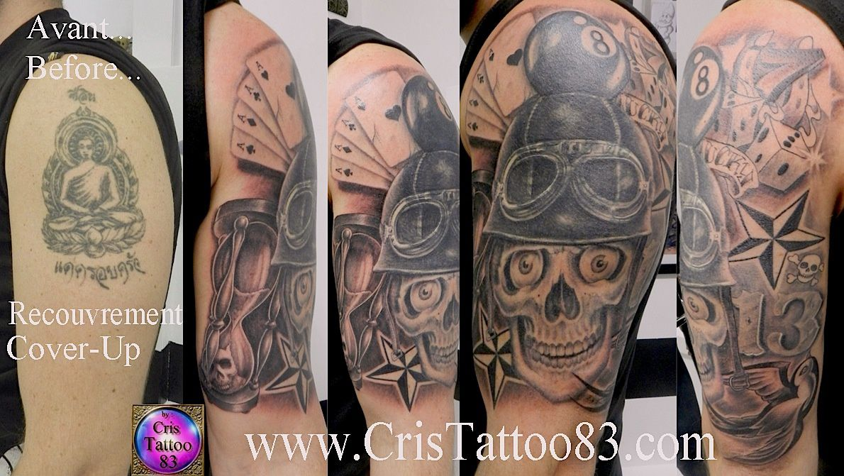 Cover-up-Recouvrement ancien tatouage