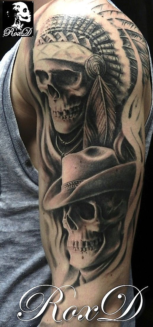 realistic skulls by RoxD