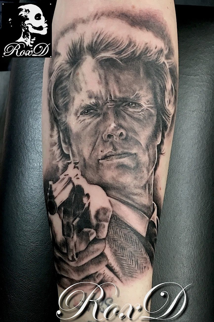 clint eastwood tattoo