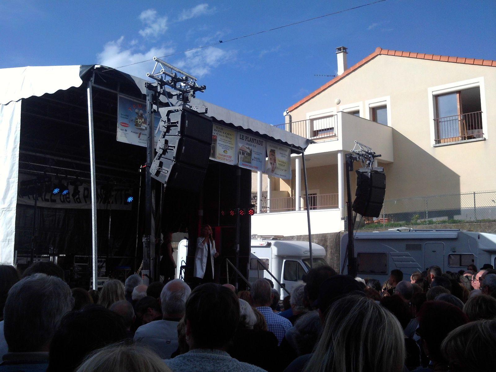 Fête de la pansette : concert de Julie Pietri