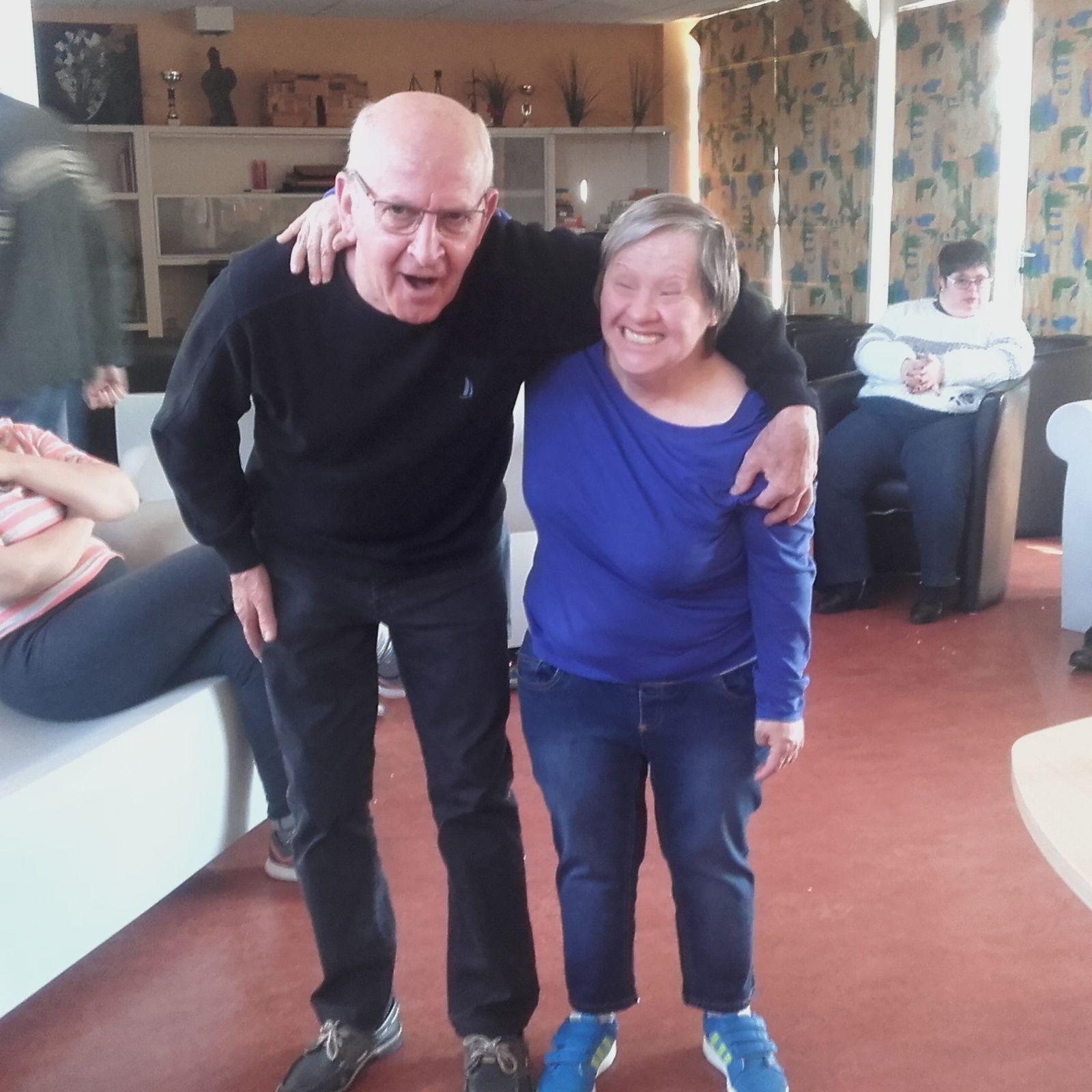 Pot de départ pour Georges et Patricia