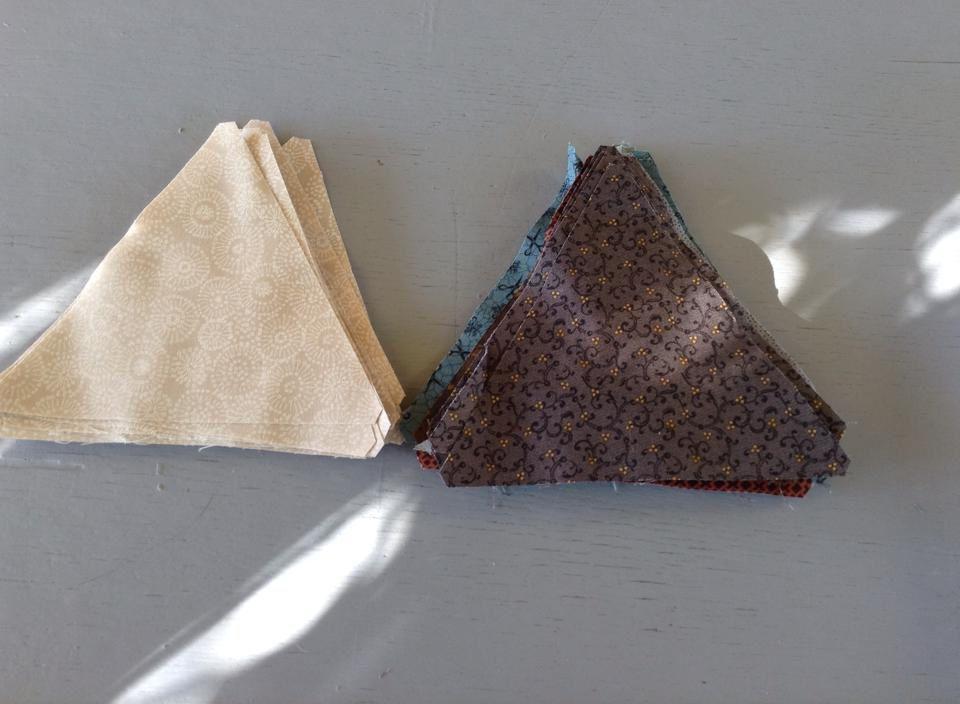Nouveau projet  : quilt Thousand Pyramids