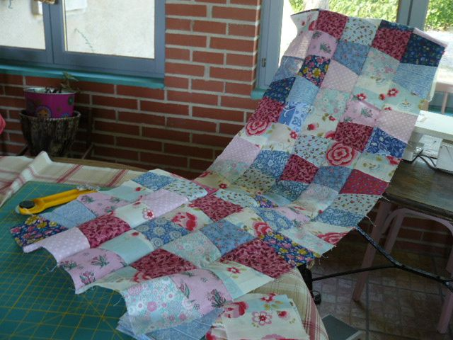 One-Patch Scrap Quilt