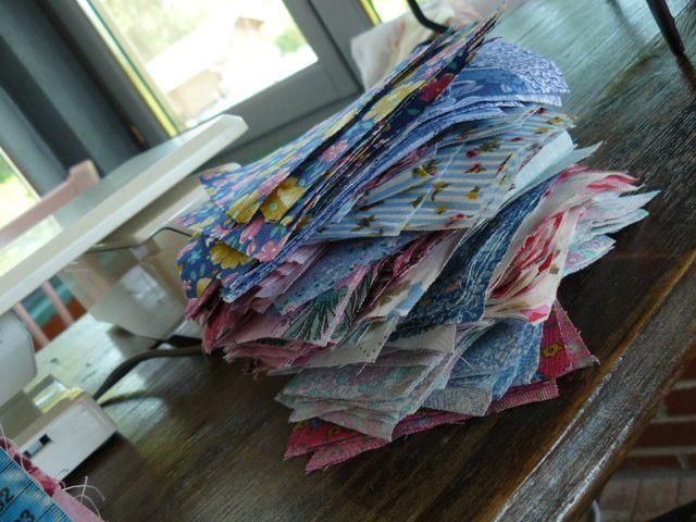 One-Patch Scrap Quilt
