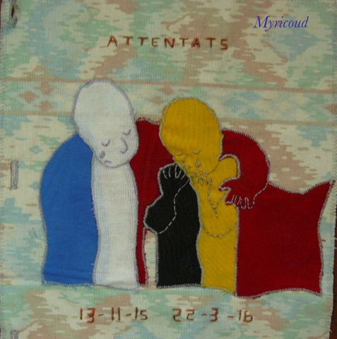 Mars et Avril mes pages journal textile