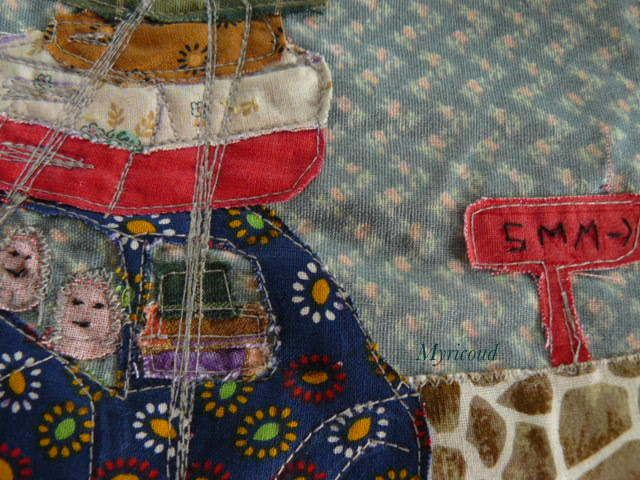 Septembre : page journal textile