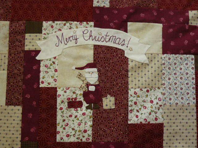 top quilt mystère Noël fini