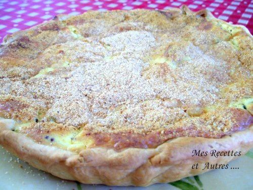 Tarte Courgettes - Maroilles