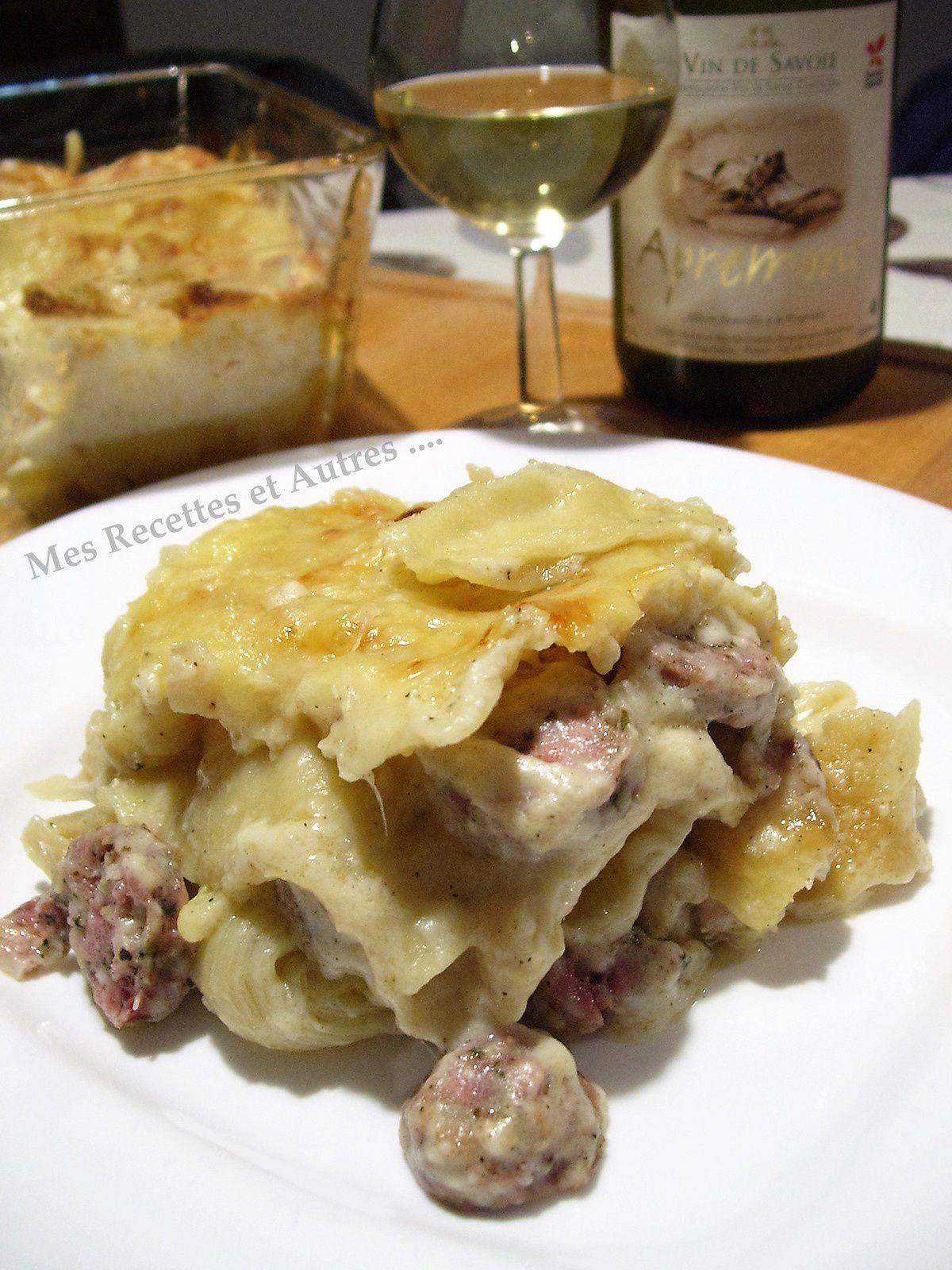 Lasagnes de Pormoniers et de Poireaux