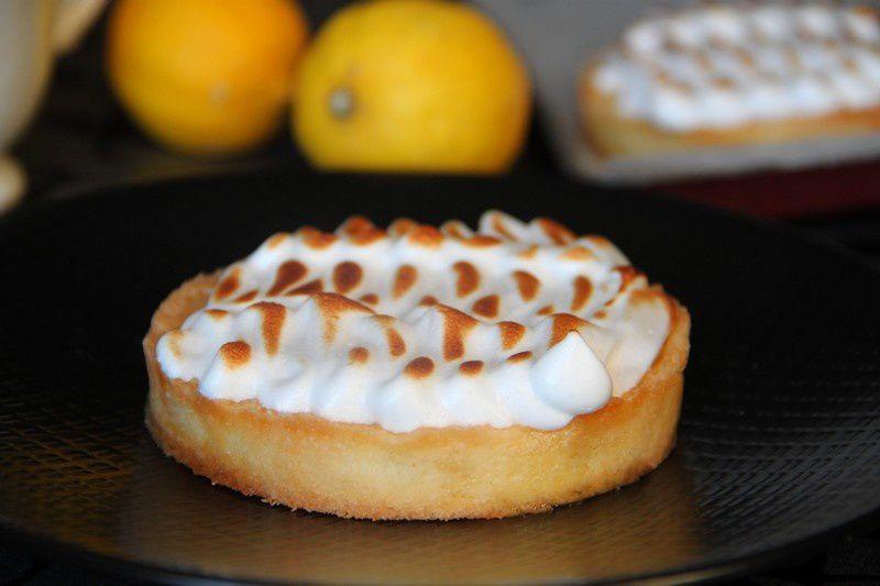 Tartelettes meringuées au citron