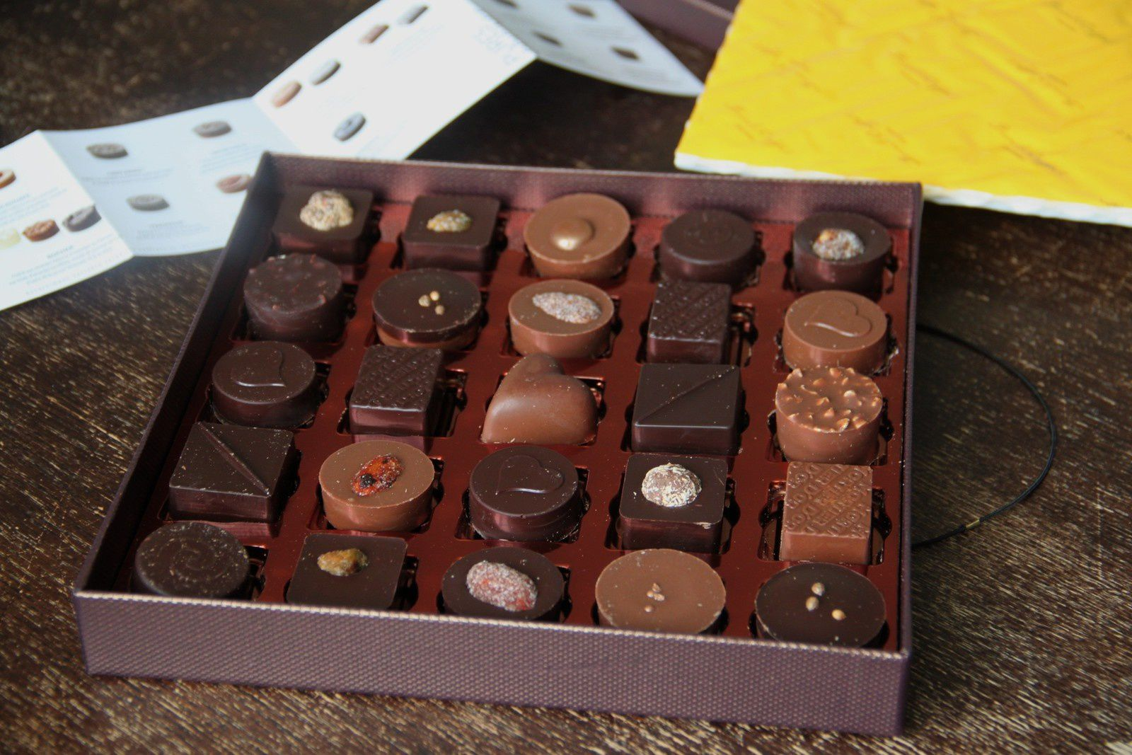 Zoom sur : Les chocolats de Pascal Caffet