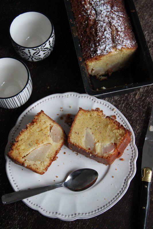 Cake à la poire et au gingembre