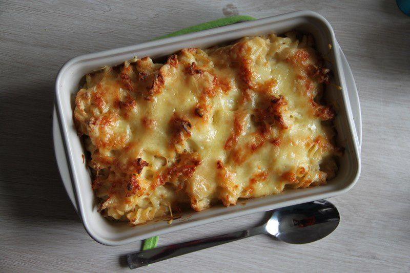 Gratin de macaroni façon bocuse