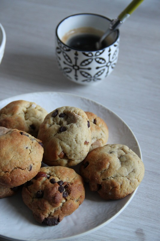 Cookies aux 2 chocolats