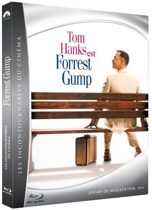 Forrest Gump en blu-ray livre édition limitée