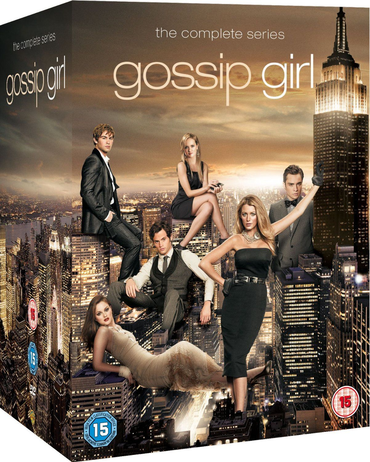 Gossip girl, l'intégrale totale en dvd en France