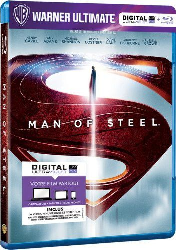 Man of steel en blu-ray/digital ultraviolet en France