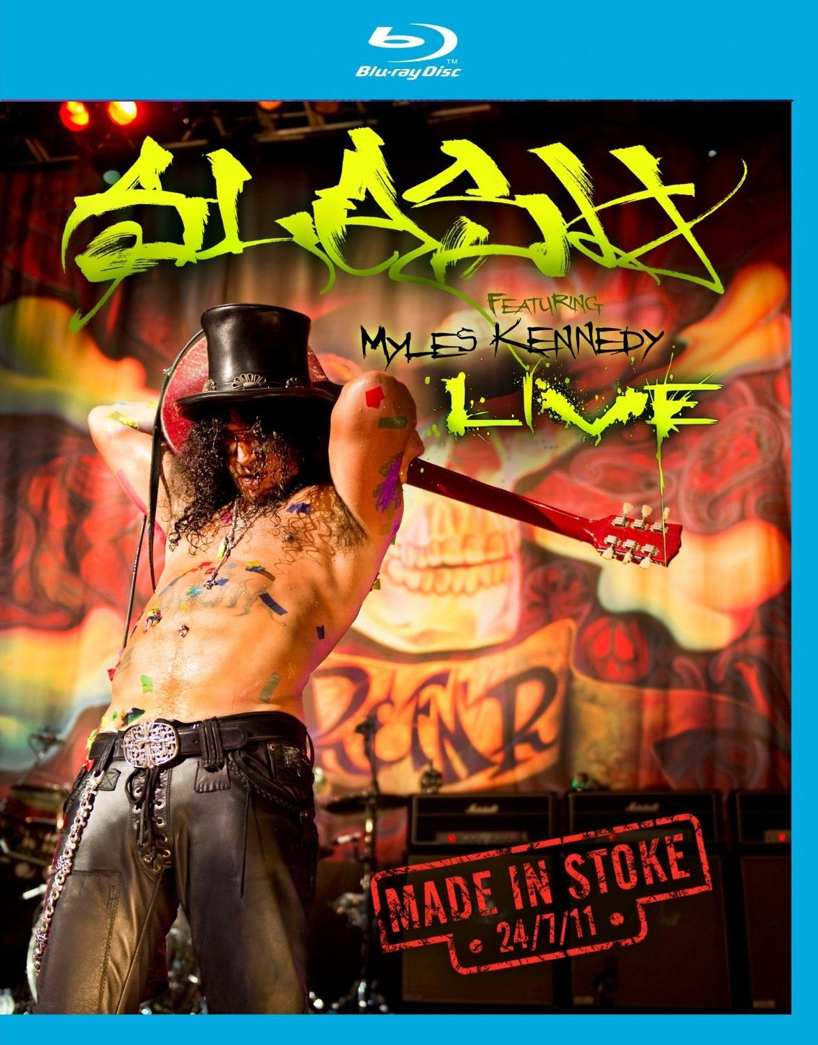 Slash - Live &quot&#x3B;made in Stoke&quot&#x3B; en blu-ray à 12€ only !