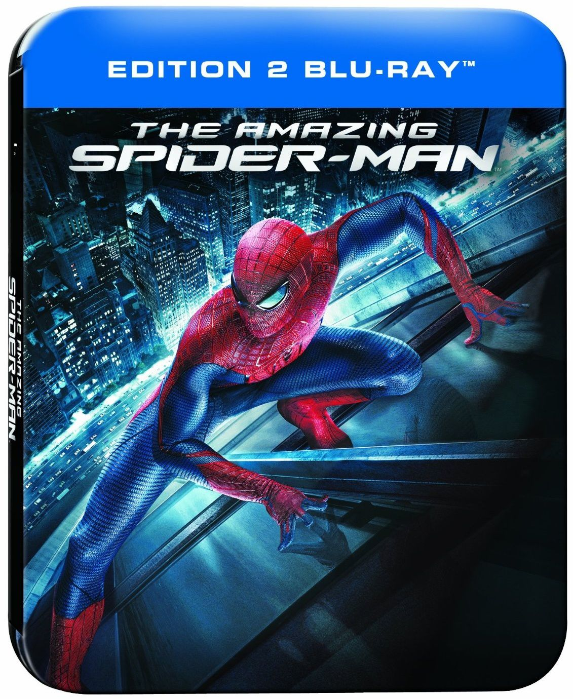 The amazing Spider-man 1 en blu-ray métal/digital ultraviolet en France à 12€ only !
