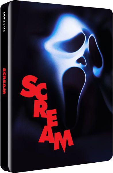 Scream 1 en blu-ray métal édition limitée