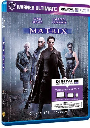 Matrix en blu-ray/digital ultraviolet en France
