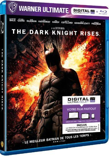 The dark knight rises en blu-ray/digital ultraviolet en France
