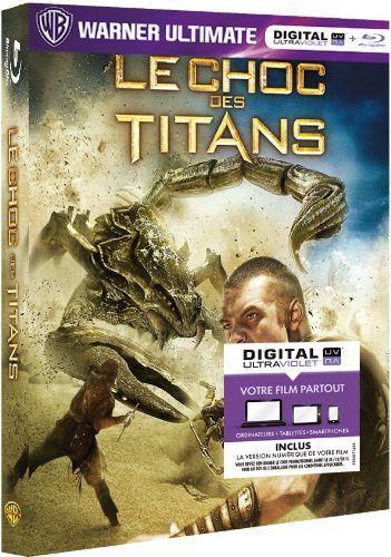Le choc des titans en blu-ray/digital ultraviolet en France
