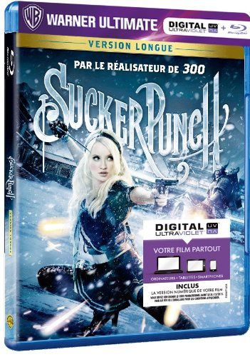 Sucker punch en blu-ray/digital ultraviolet en France