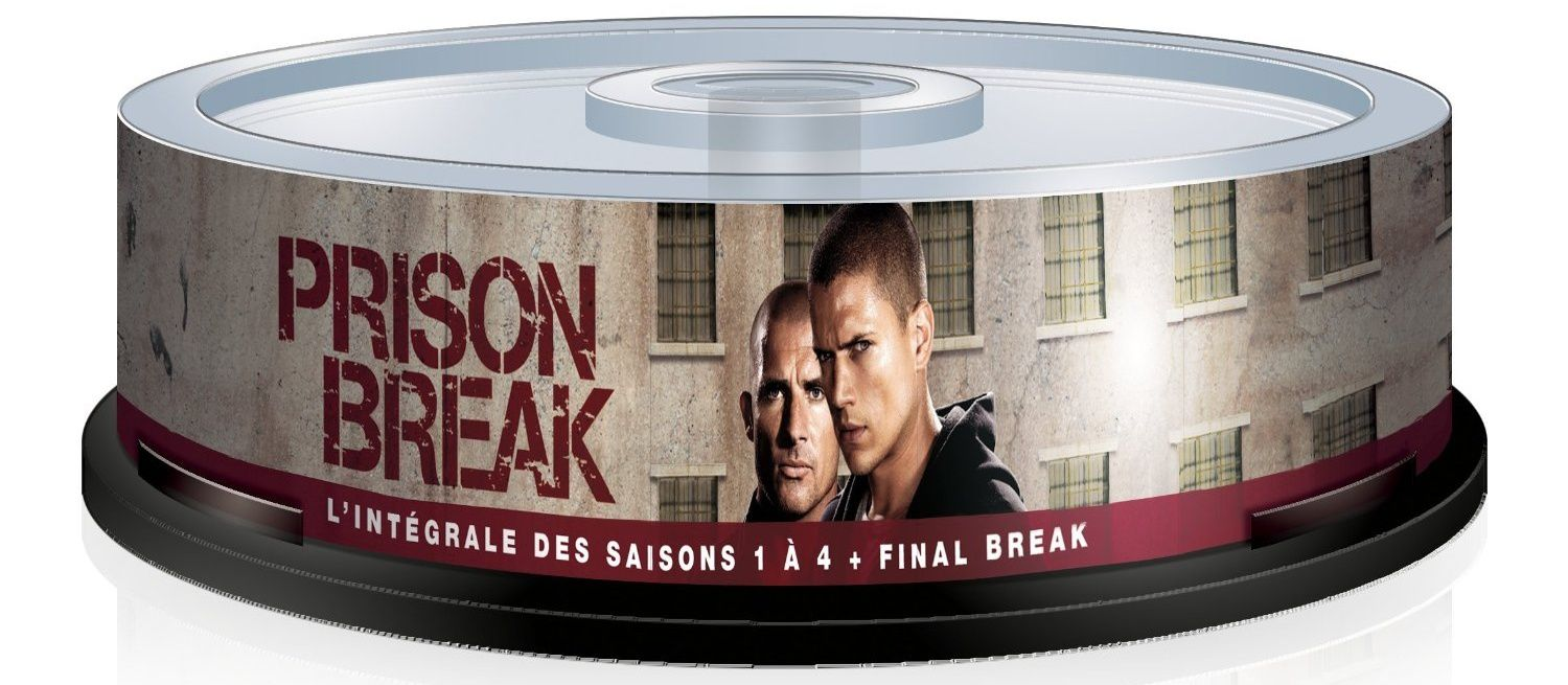 Prison break, l'intégrale totale en format tour dvd