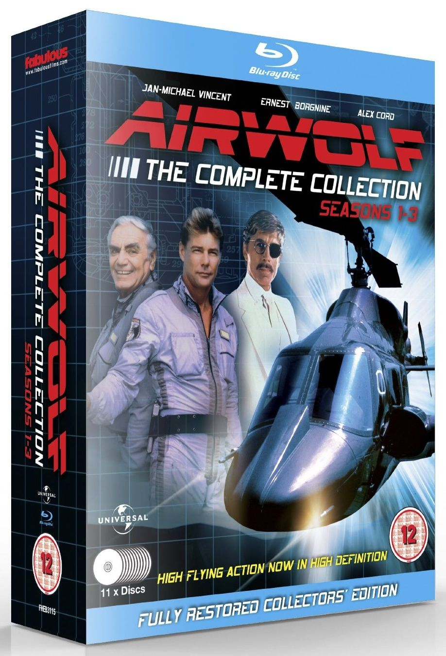 Supercopter, l'intégrale totale en blu-ray