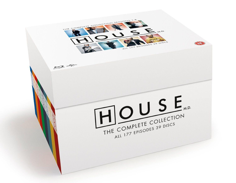 Dr House, l'intégrale totale en blu-ray !